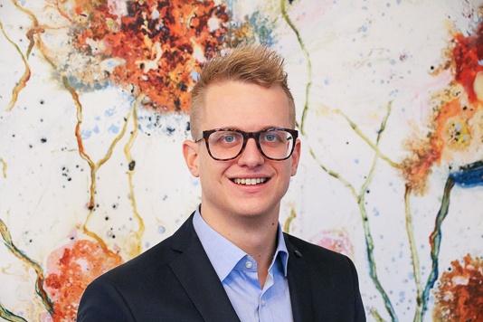 Pim van Os, contactpersoon Kadans voor Novio Tech Campus Nijmegen