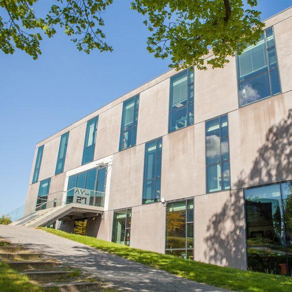 AV Huis op TripleO Campus in Breda. Triple O Campus is het centrum voor creativiteit en technologie van Breda en omstreken.