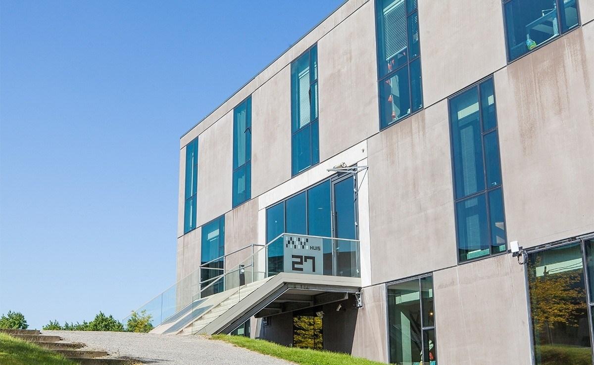 AV Huis op Triple O Campus in Breda. Triple O Campus is het centrum voor creativiteit en technologie van Breda en omstreken.