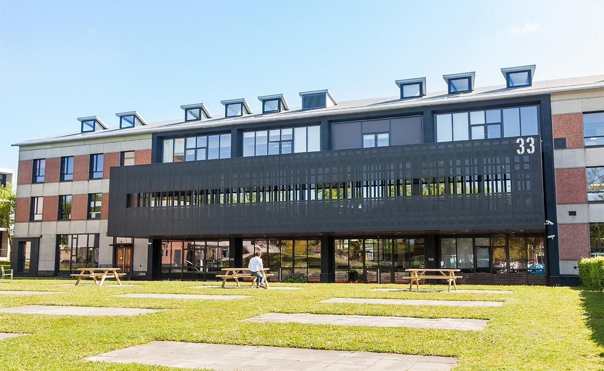 Blushuis op Triple O Campus in Breda. Triple O Campus is het centrum voor creativiteit en technologie van Breda en omstreken.