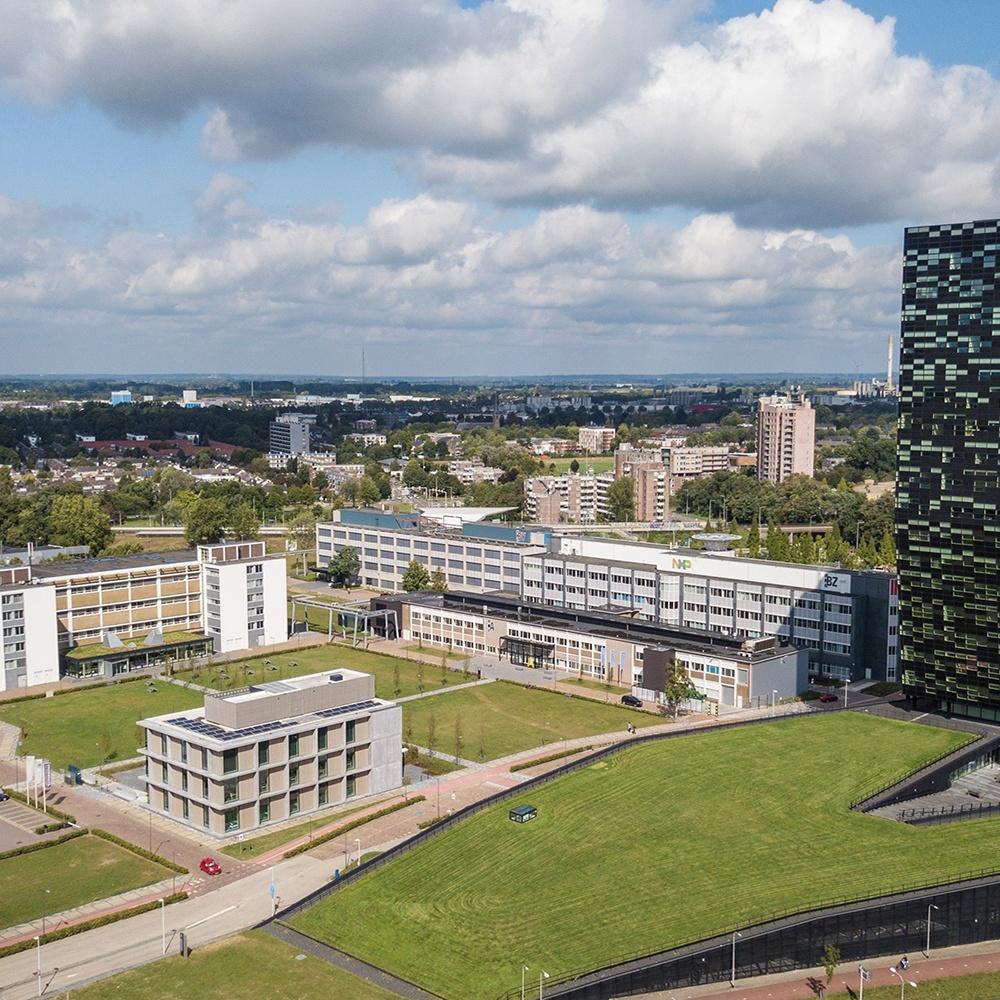 Novio Tech Campus Nijmegen, NTC Nijmegen. Campus in Nijmegen op NXP terrein.