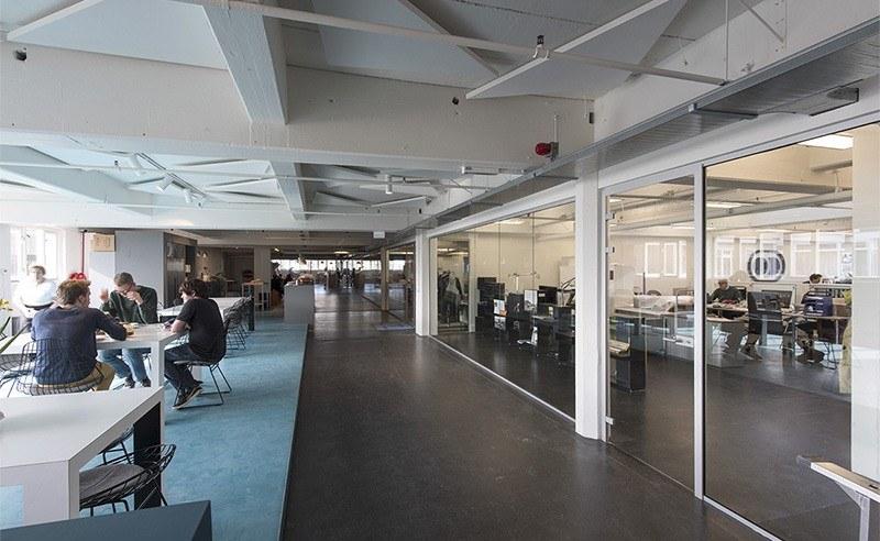 Pastoe Fabriek Utrecht. Creatieve samenwerking met studenten en de creatieve industrie. Ruimte voor start-ups en incubators.