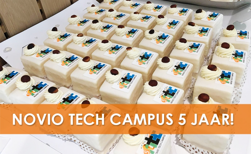 Novio tech campus 5 jaar-820x505