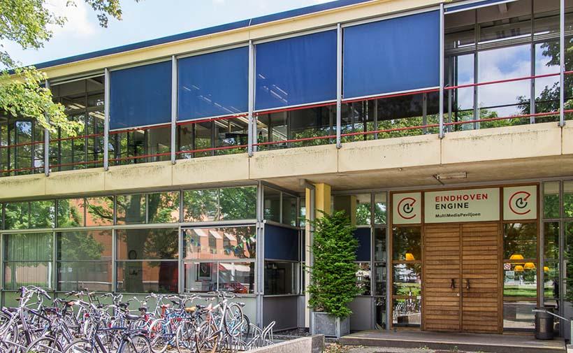 Multi Media Paviljoen en Eindhoven Engine op TU/e Campus