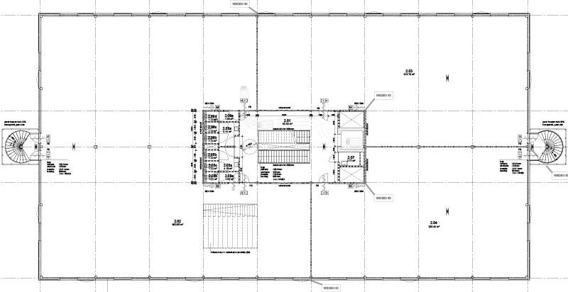 Plattegrond van de begane grond van het Merkhuis op de TripleO Campus