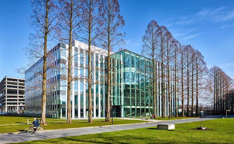 Genmab R&D Center on Utrecht Science Park