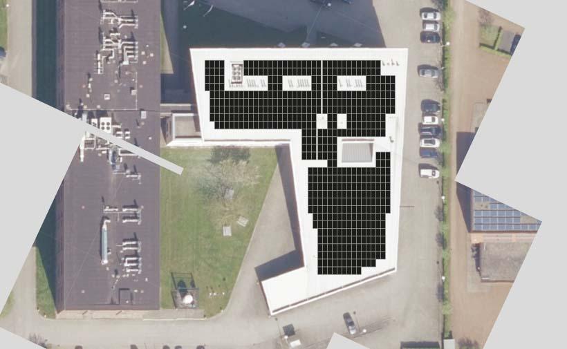Kadans plaatst zonnepanelen op het dak van BioPartner Center Wageningen