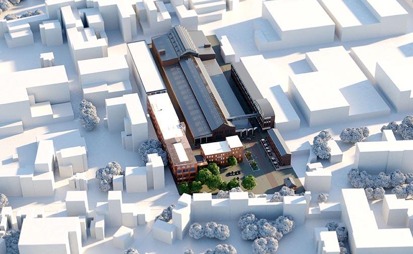 Campus Jahrhunderthalle development Aachen