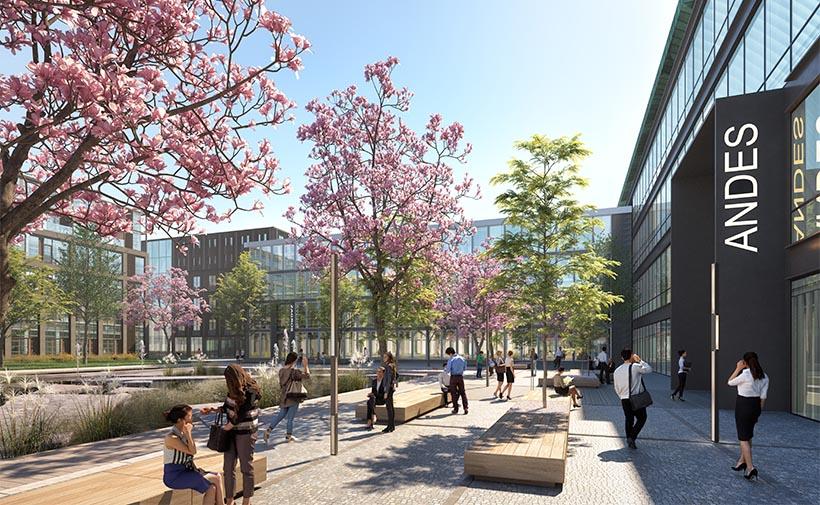 At The Park, innovatieve campus in Rijswijk