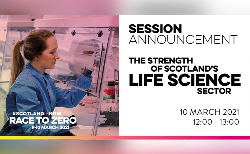 Session announcement:  the strenght of scotland's life science sector