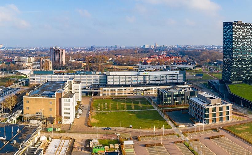 Gebouw BY op Novio Tech Campus Nijmegen