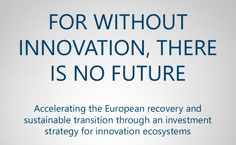 For without innovation, there is no future IASP article