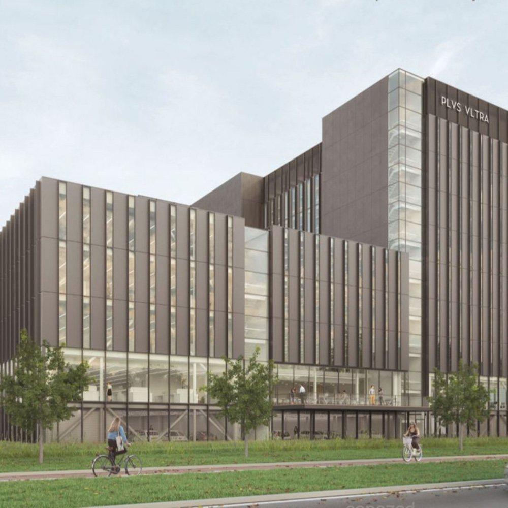 Leiden Bio Science Park. Labruimte te huur en kantoorruimte te huur in Plus Ultra Leiden science bedrijfsverzamelgebouw van Kadans Science Partner. Faciliteiten o.a. laboratoria, kantoorruimten.