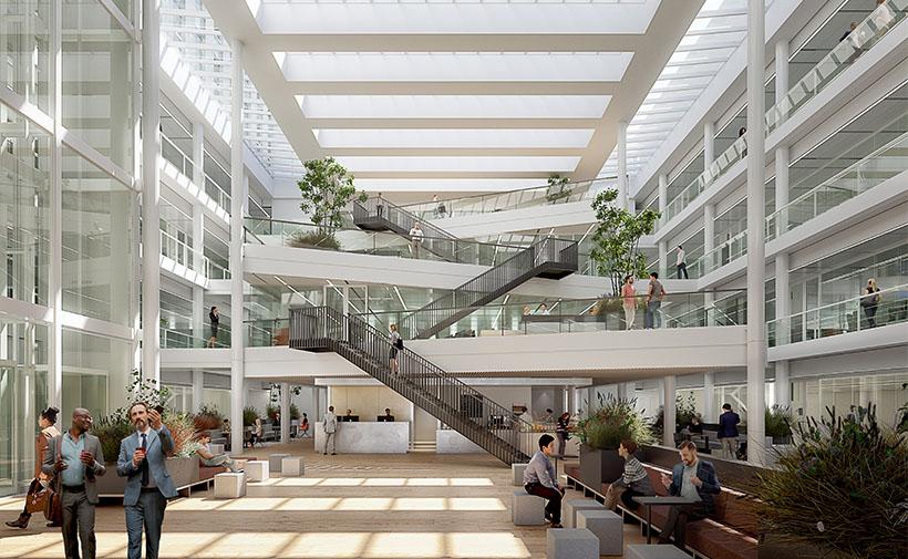 Atrium of Plus Ultra Leiden